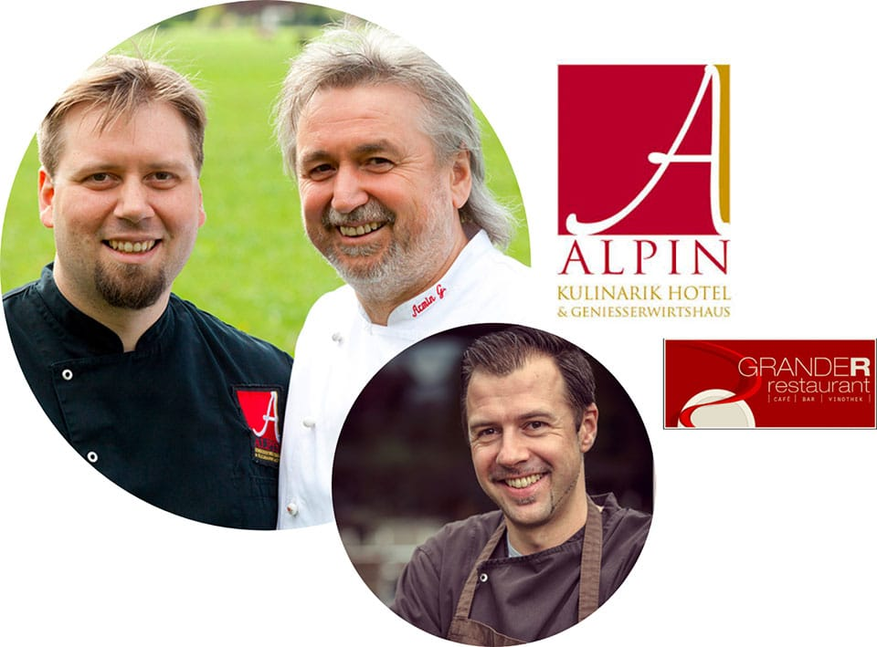 Experten in Kochen, Kulinarik, Gastronomie & Lifestyle